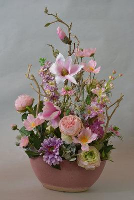 Romantisch bloemstuk