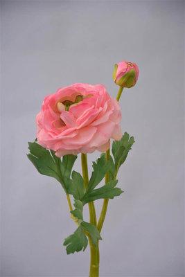 Ranonkel, 33cm, Roze