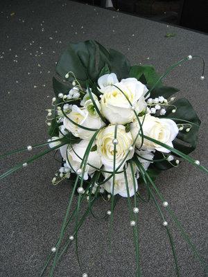 Bruidsboeket Rozen - Parels