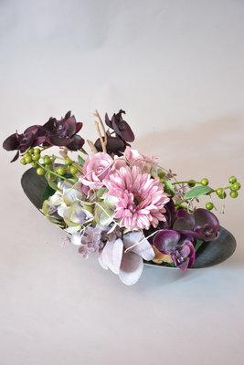 Paars-roze bloemstuk