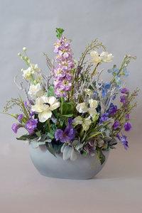 Landelijk bloemstuk