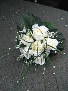 bruidsboeket rozen