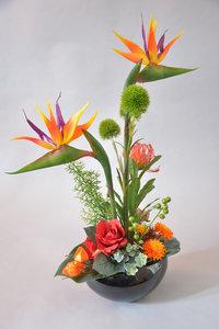 Tropisch bloemstuk