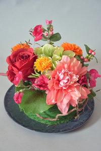 Fleurig taartje