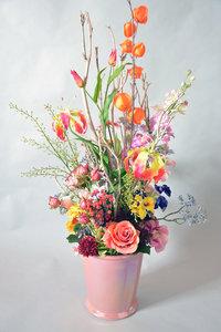 Vintage bloemenpracht