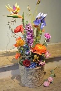 Zijden bloemenzee
